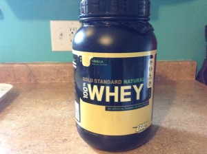 Gold Standard Natural 100% Whey Packaging