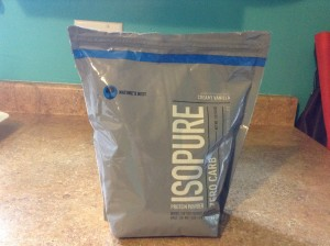 Isopure Packaging