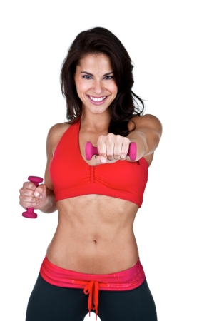 woman strength training300